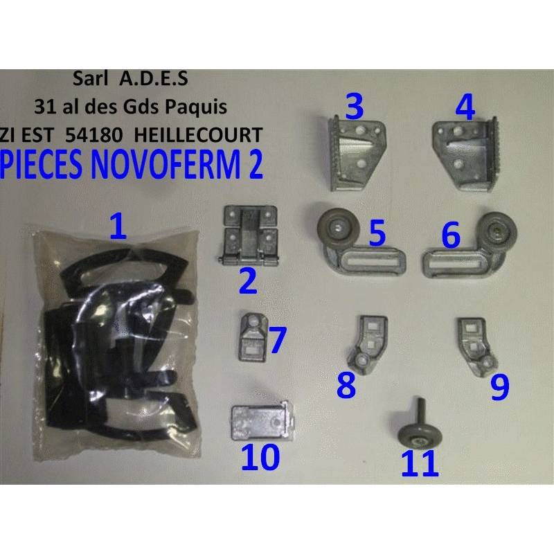 Catalogue repere des pieces sarl a d e s - Pieces detachees porte de garage sectionnelle ...
