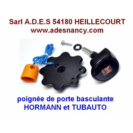Poignee de porte de garage basculante hormann tubauto for Piece porte garage