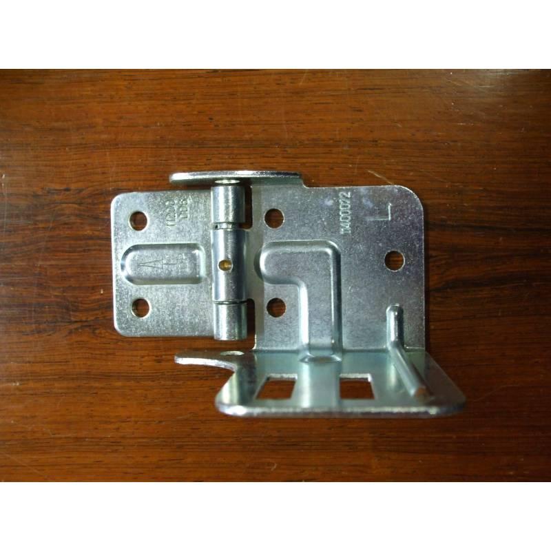 Support lat ral gauche l porte roulette novoferm iso20 - Galet pour porte de garage basculante ...