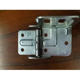 support lateral droit pour porte roulette et roulette de ISO20 monobloc NOVOFERM