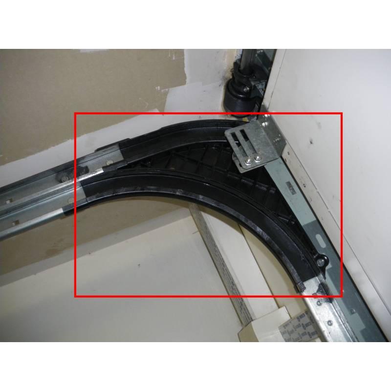 Courbes cintres novoferm maeva et iso20 la paire g d - Porte de garage sectionnelle novoferm ...
