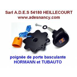 POIGNEE DE PORTE DE GARAGE BASCULANTE HORMANN/TUBAUTO