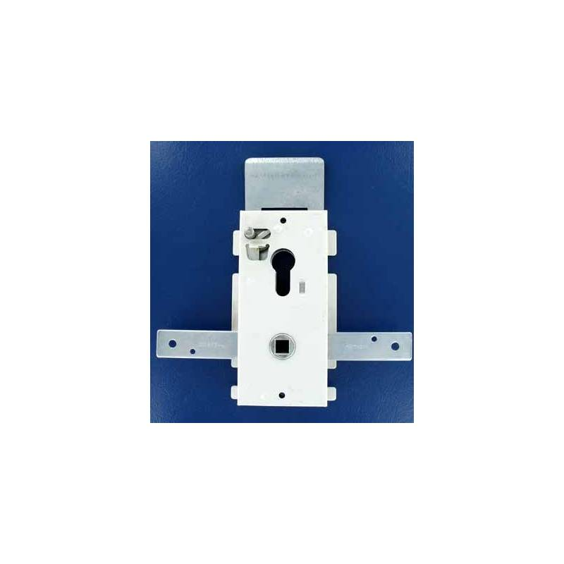 Serrure pour porte standard hormann ou tubauto adaptable for Comment changer un barillet de porte de garage