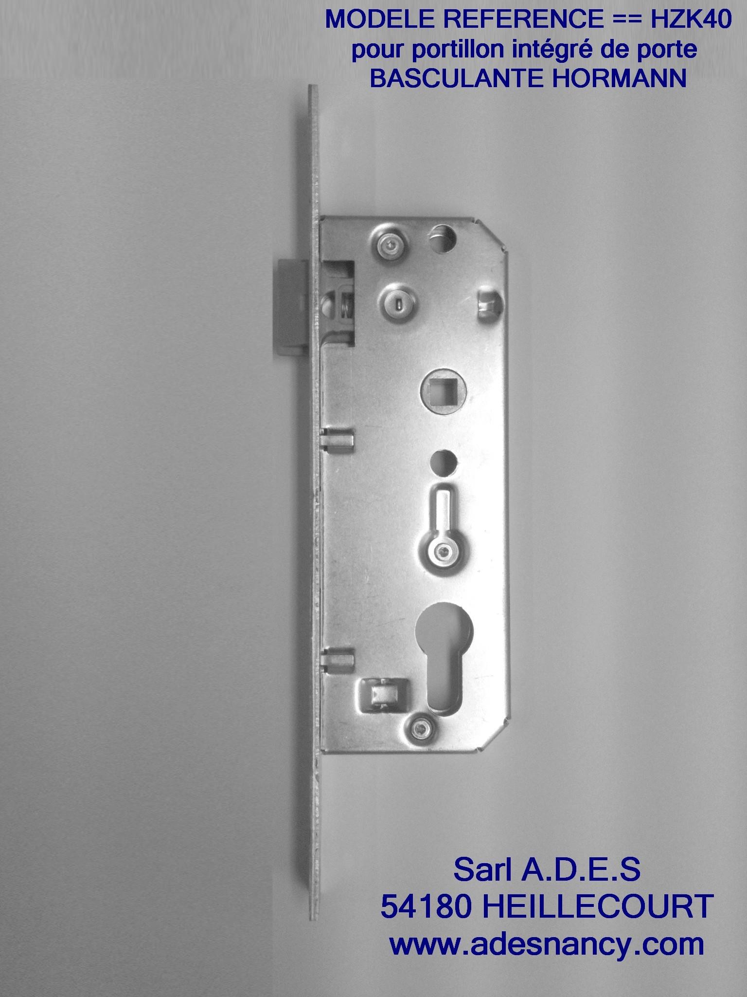 Serrure porte de garage basculante hormann excellent for Prix serrure porte de garage basculante