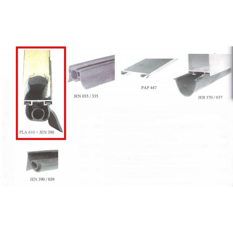 Joint bas de porte sectionnelle sarl a d e s - Joint pour porte de garage ...