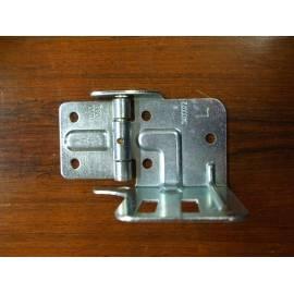 charnière latérales et support GAUCHE ( L) porte roulette NOVOFERM ISO45