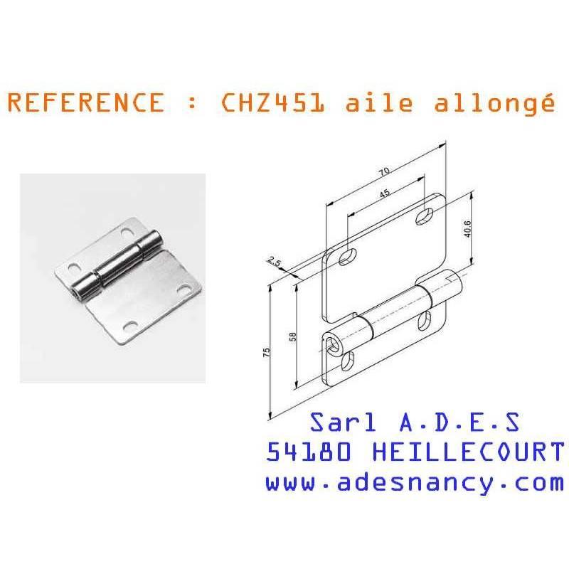 charniere de porte sectionnelle allong sarl a d e s. Black Bedroom Furniture Sets. Home Design Ideas