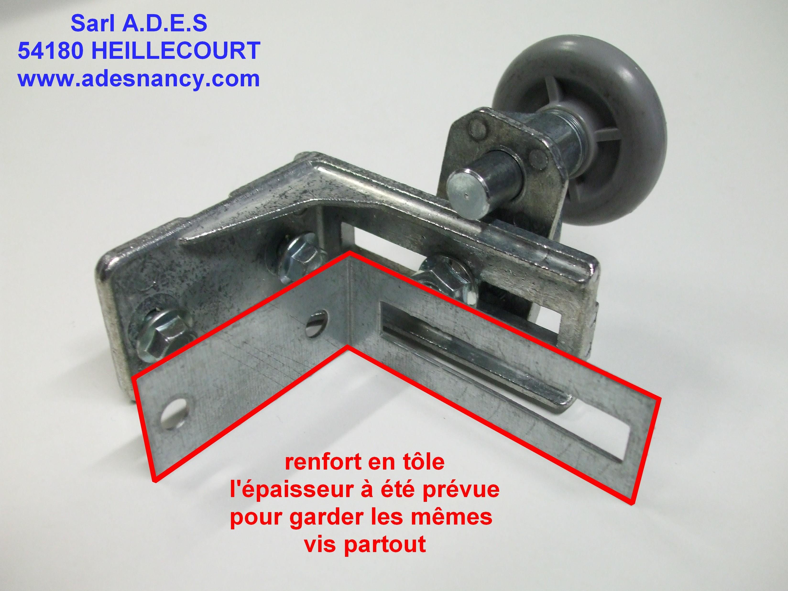 Renfort Dequerre De Support Roulette Sur Portes