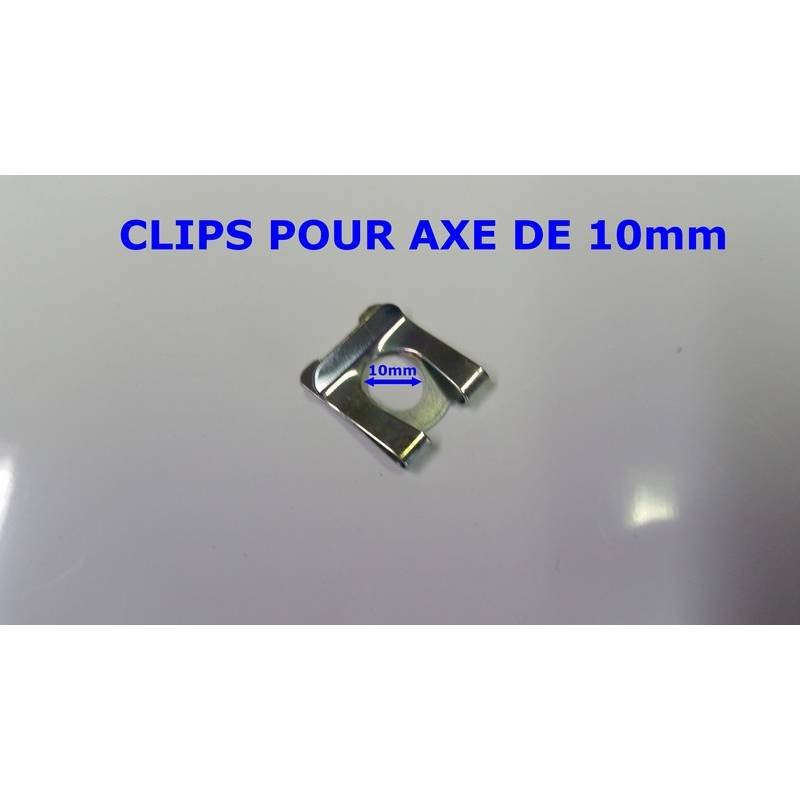 Clips De 10mm Pour Verrous De Portes Basculante Hormann Et Tubauto