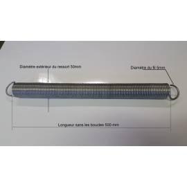 Ressorts de traction de porte sectionnelle novoferm SYMPHONI