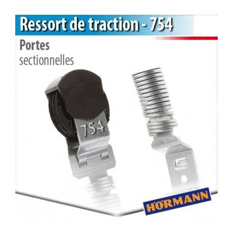 754 ressorts de traction de porte sectionnelles hormann et for Prix porte de garage hormann sectionnelle
